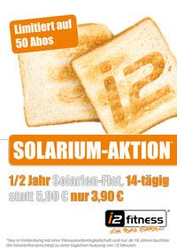 Unsere Solarium-Aktion <br>für die kalten Tage...