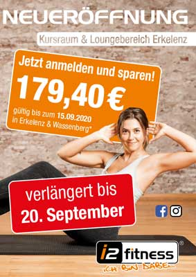 Die Aktion ist bis zum <br> 20. September verlängert!