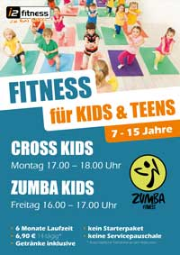 Ab Oktober neu, <br> Fitness für Kids & Teens