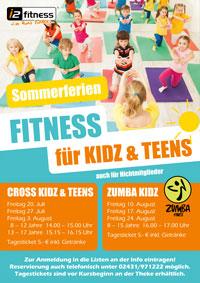 Sommerferien Fitness