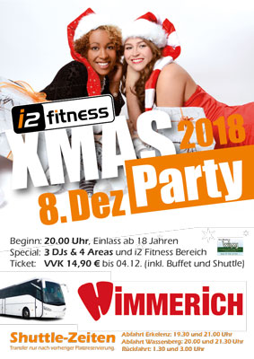 8. Dezember<br> Xmas Party